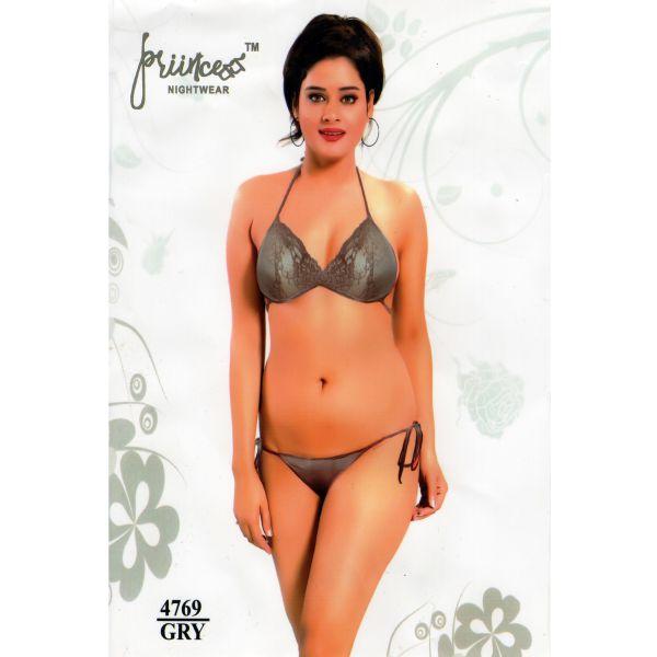 Fashionable Bikini Set-4769 GRY