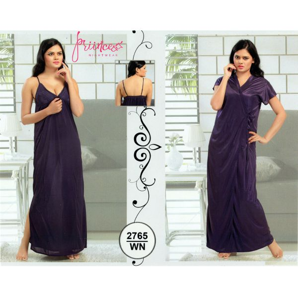 Fashionable Two Part Nighty-2765 WN