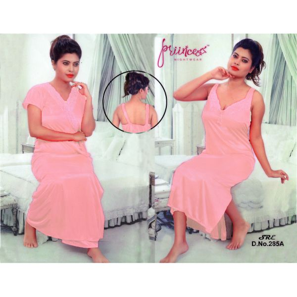 Fashionable Two Part Nighty-285 A