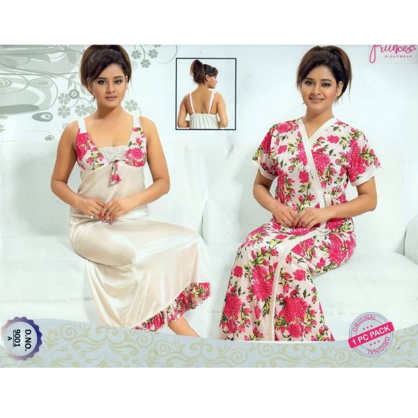Fashionable Two Part Nighty-9001 A