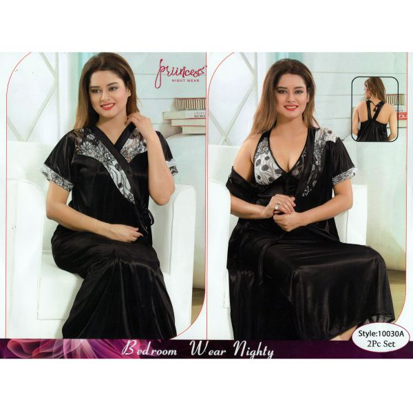 Fashionable Two Part Nighty-10030 A