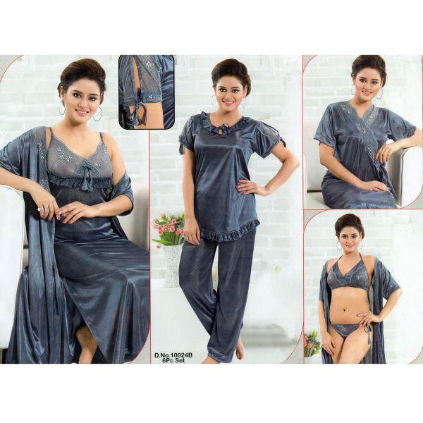 Fashionable Six Part Nighty-10024 B