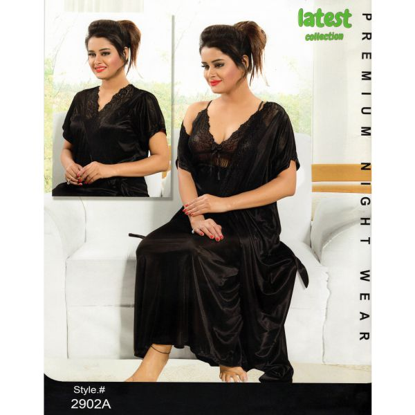 Fashionable Two Part Nighty-2902 A