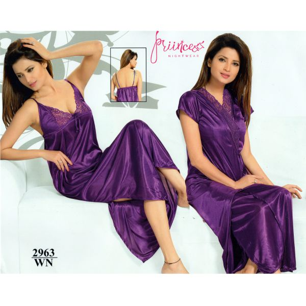 Fashionable Two Part Nighty-2963 WN