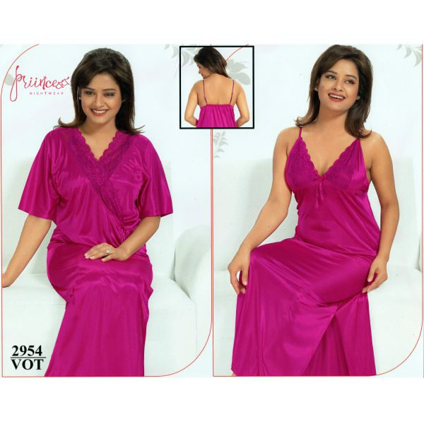 Fashionable Two Part Nighty-2954 VOT