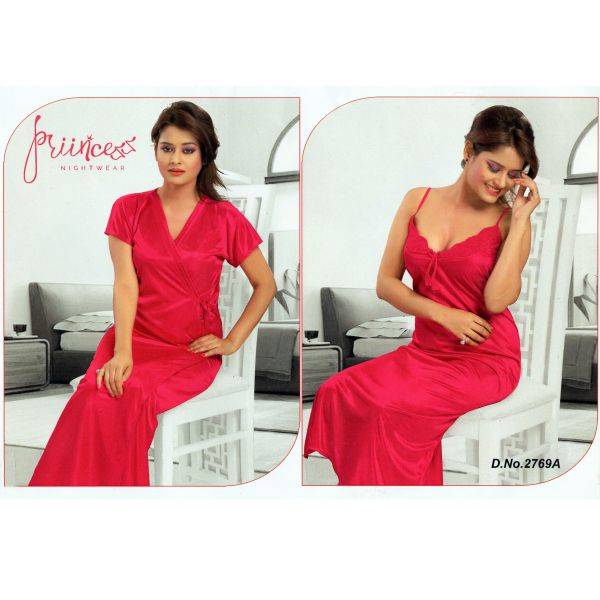 Fashionable Two Part Nighty-2769 A