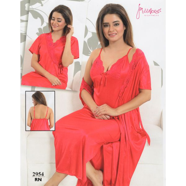 Fashionable Two Part Nighty-2954 RN