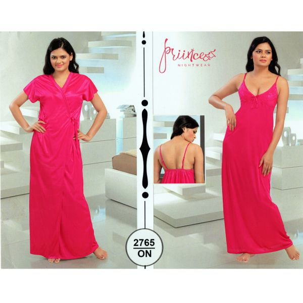 Fashionable Two Part Nighty-2765 ON