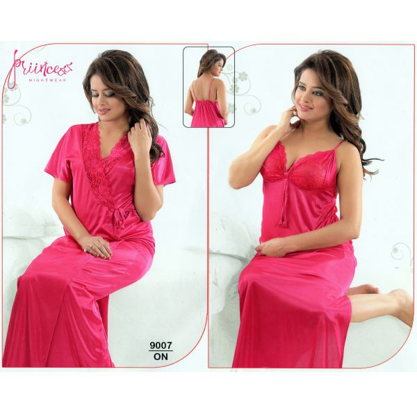 Fashionable Two Part Nighty-9007 ON