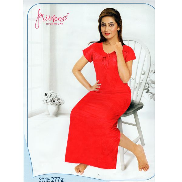 Fashionable One Part Nighty-277-g