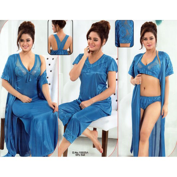Fashionable Six Part Nighty-10025 A