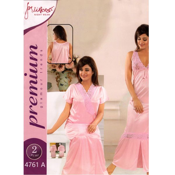 Fashionable Two Part Nighty-4761 A