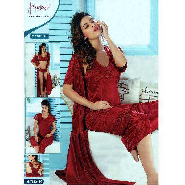 Fashionable Six Part Nighty-4765 B