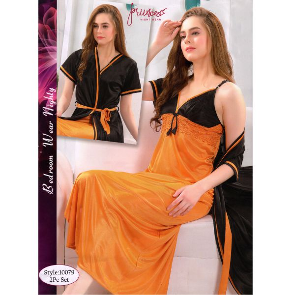 Fashionable Two Part Nighty-10079