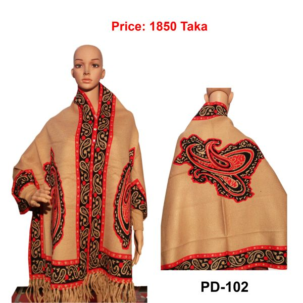 Women New Poncho Shawl-PD-102