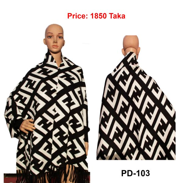 Women New Poncho Shawl-PD-103