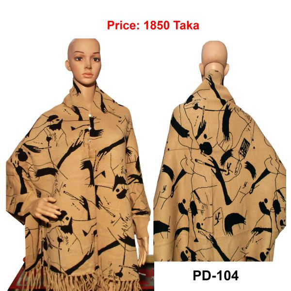 Women New Poncho Shawl-PD-104