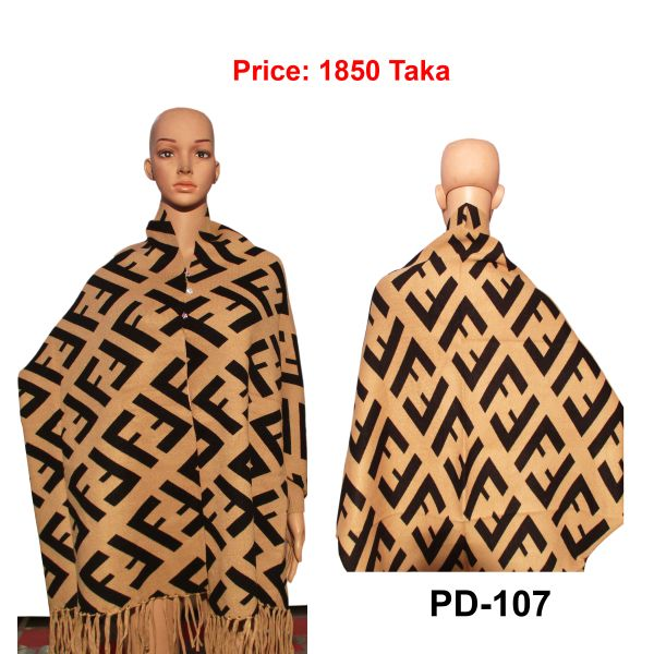 Women New Poncho Shawl-PD-107