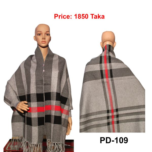 Women New Poncho Shawl-PD-109