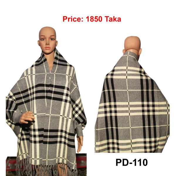Women New Poncho Shawl-PD-110