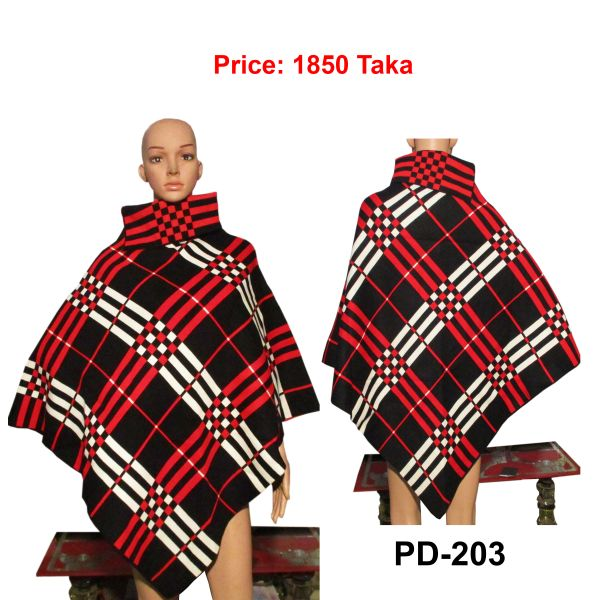 Women New Poncho Shawl-PD-203
