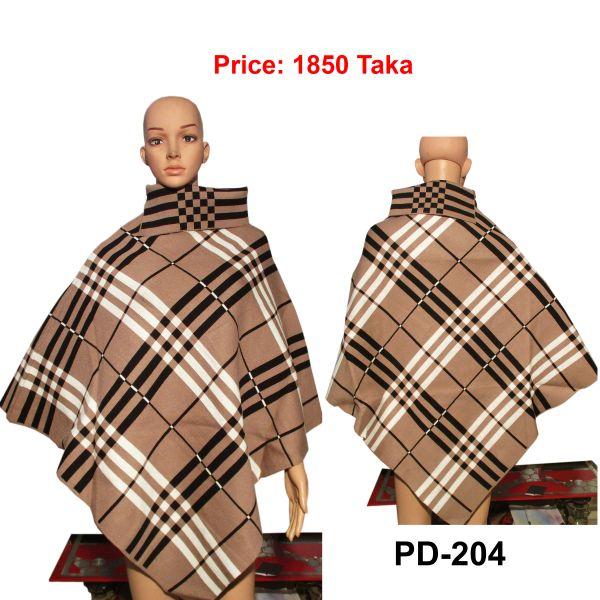 Women New Poncho Shawl-PD-204