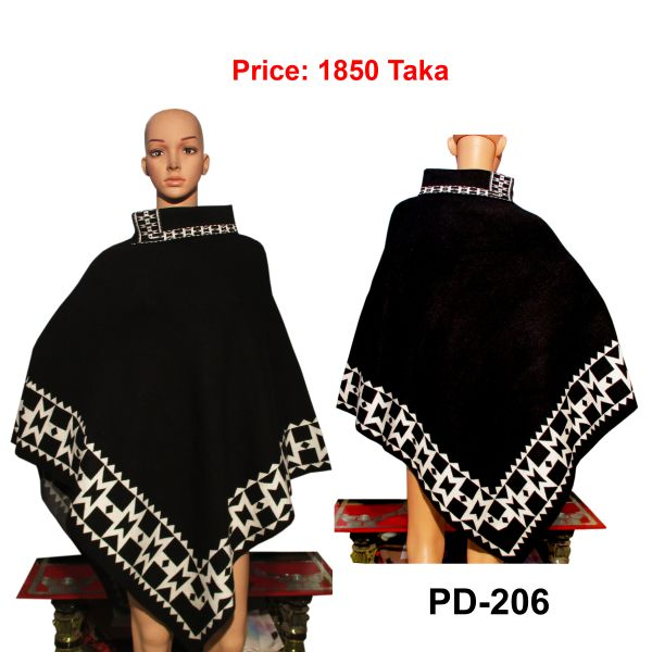 Women New Poncho Shawl-PD-206