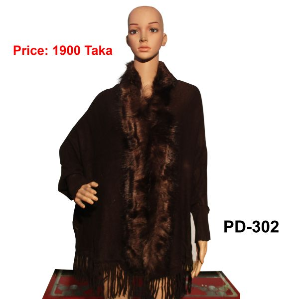 Women New Poncho Shawl-PD-302