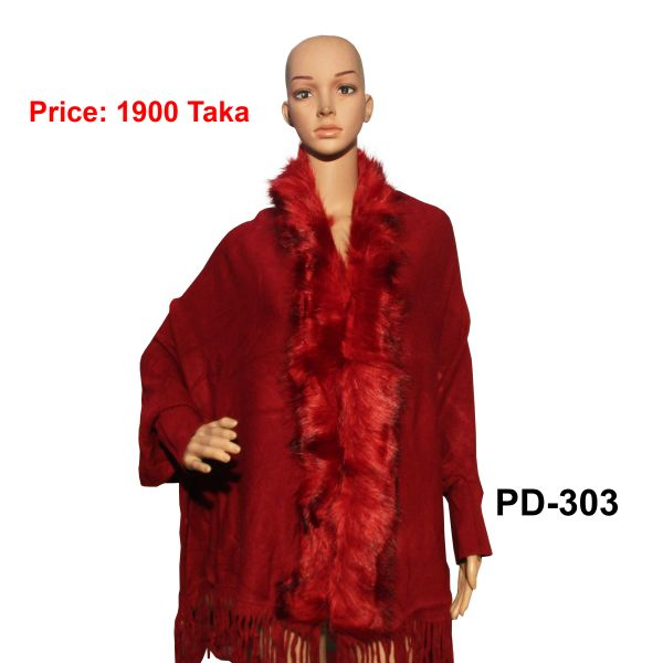 Women New Poncho Shawl-PD-303