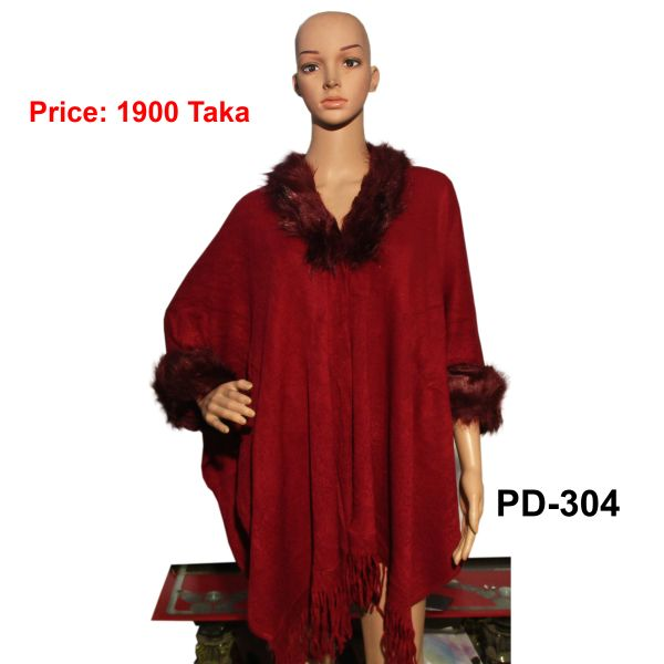 Women New Poncho Shawl-PD-304