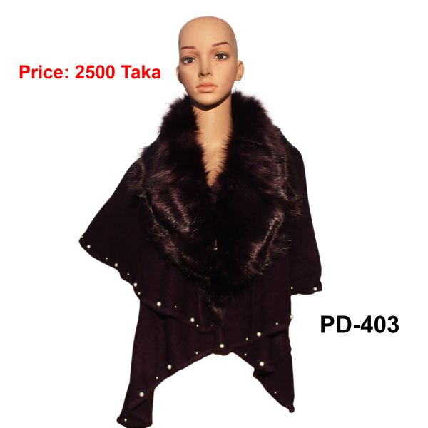 Women New Poncho Shawl-PD-403
