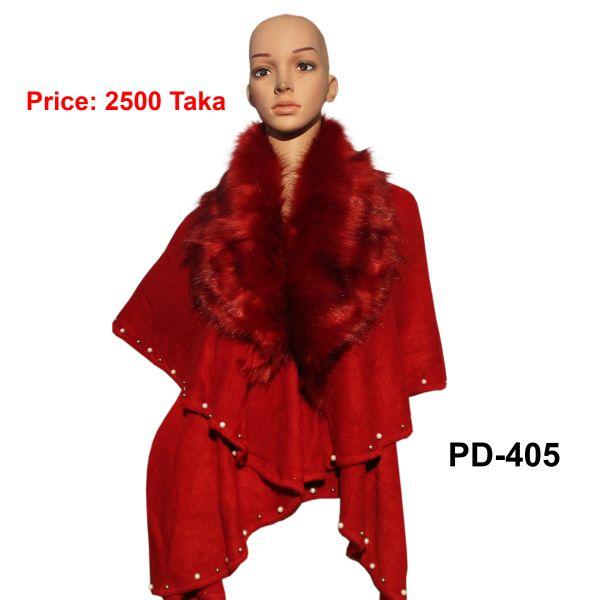 Women New Poncho Shawl-PD-405