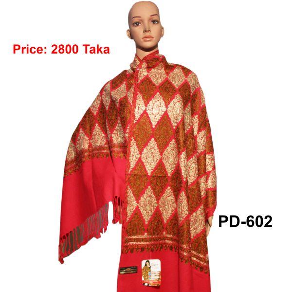 Women New Kashmiri Shawl-PD-602