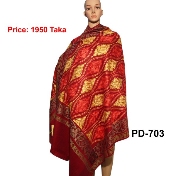 Women New Kashmiri Shawl-PD-703