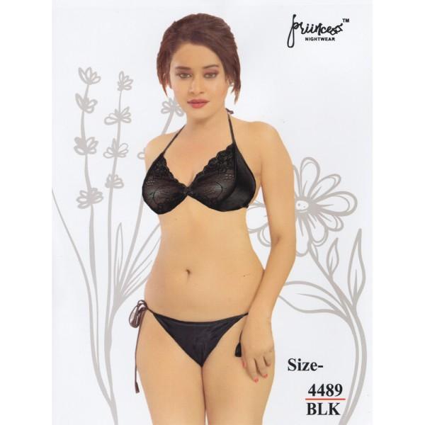 Fashionable Bikini Set-4489 BLK