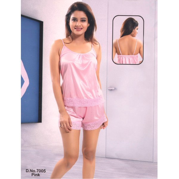 Two Part Nighty-7005 Pink