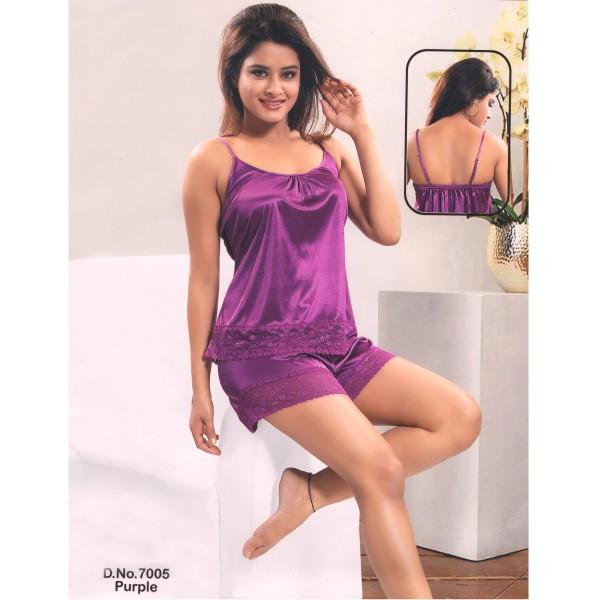 Two Part Nighty-7005 Purple