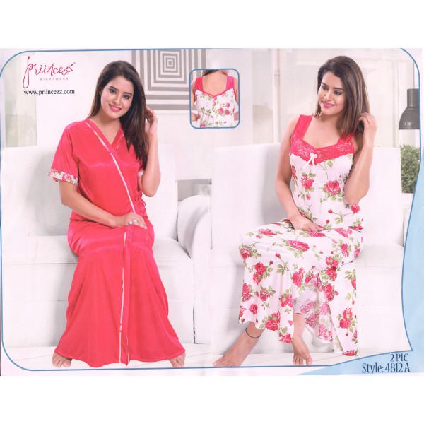 Two part Night Dress-4812 A