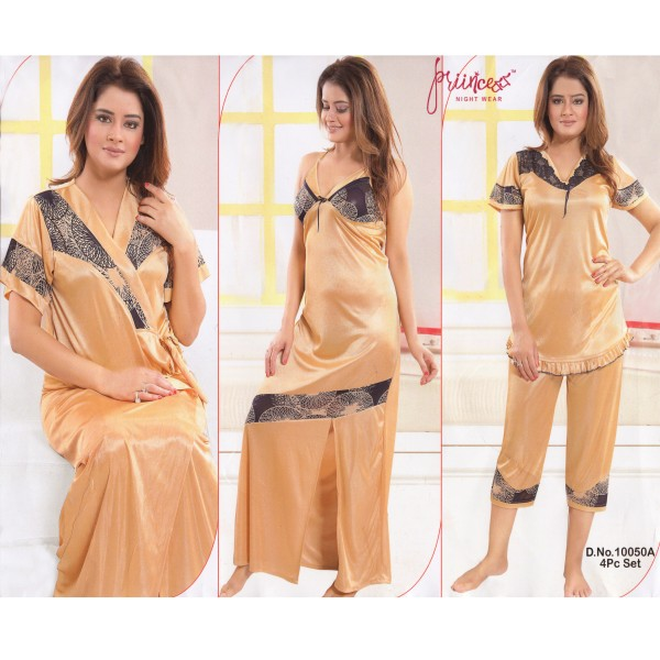 Fashionable Four Part Nighty-10050 A