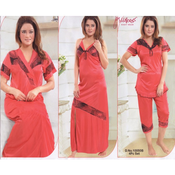 Fashionable Four Part Nighty-10050 B