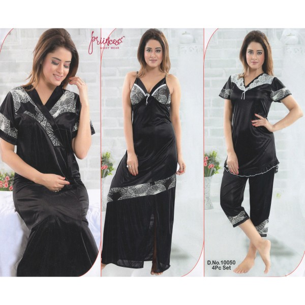 Fashionable Four Part Nighty-10050