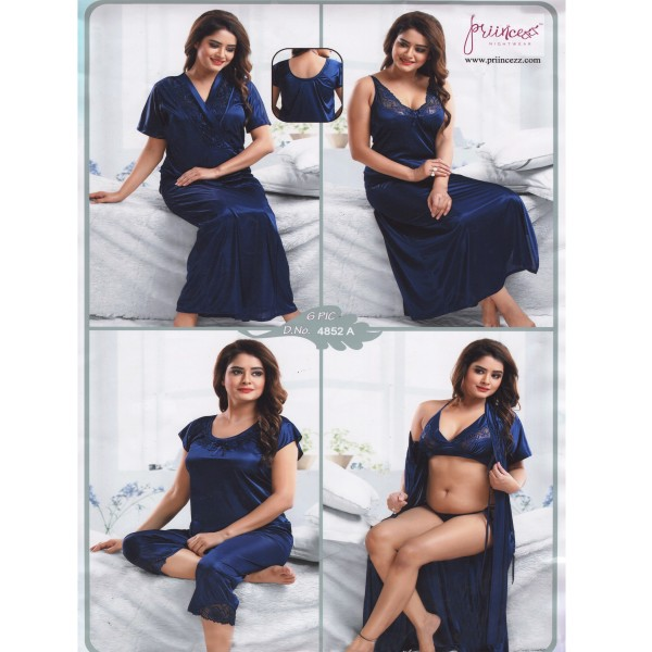Fashionable Six Part Nighty-4852 A