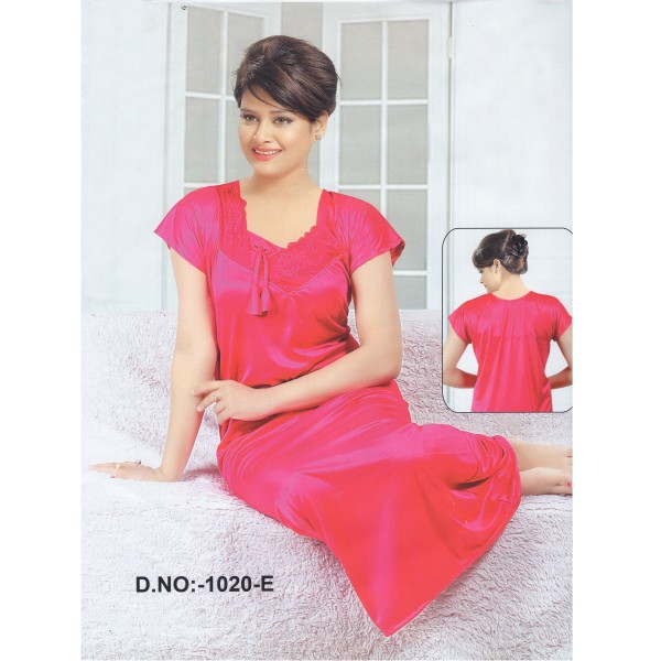 Fashionable One Part Nighty-1020 E