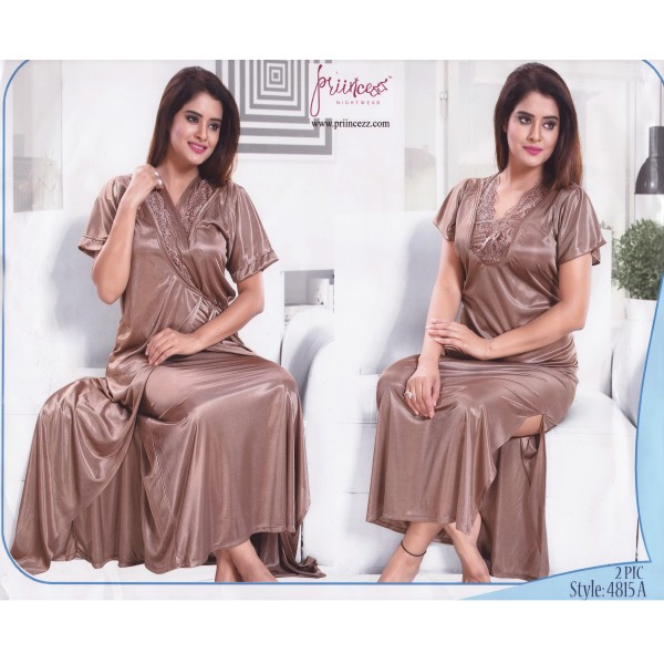 Fashionable Two Part Nighty-4815 A