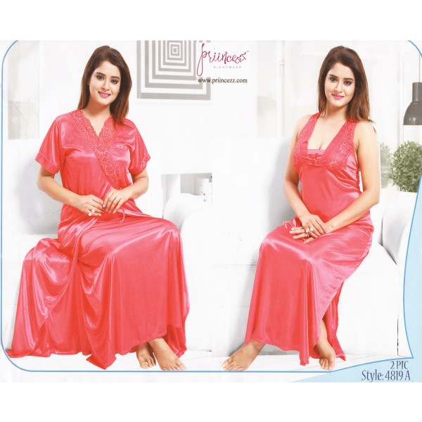 Fashionable Two Part Nighty-4819 A