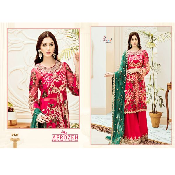 Afrozeh Embroidery Collection-2121