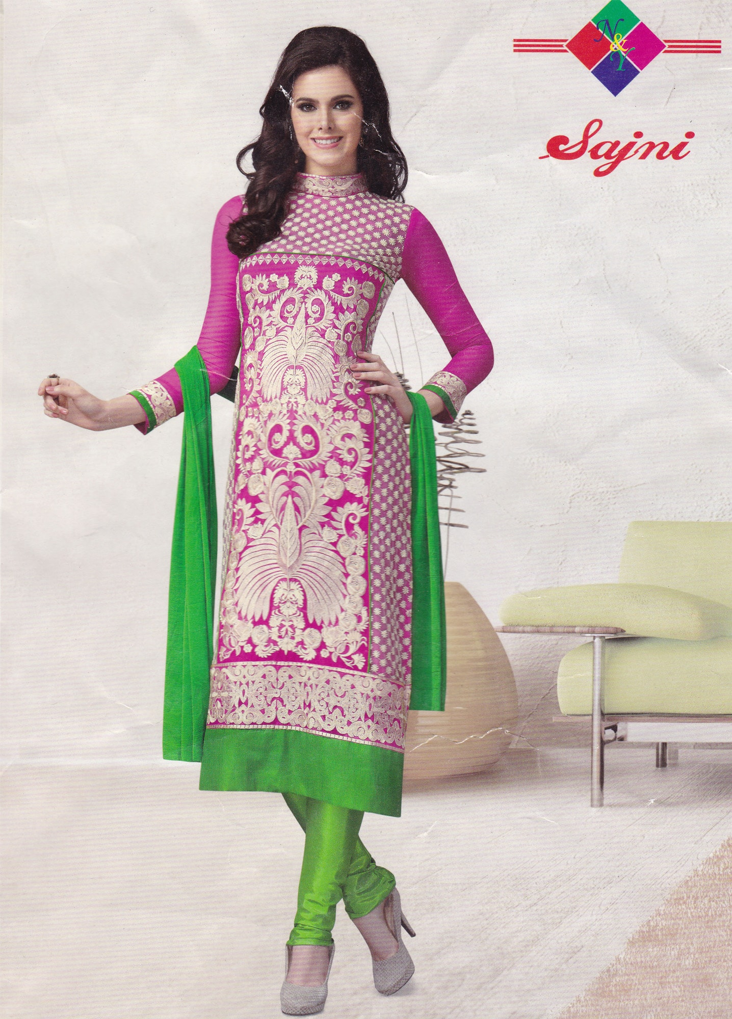 Indian Cotton Safeena Salwar