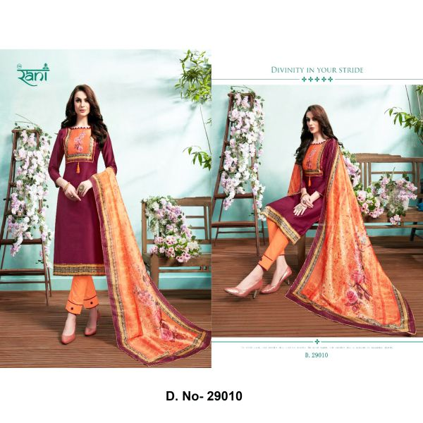 Spanish Vol-9 By Rani Fashion- 29010