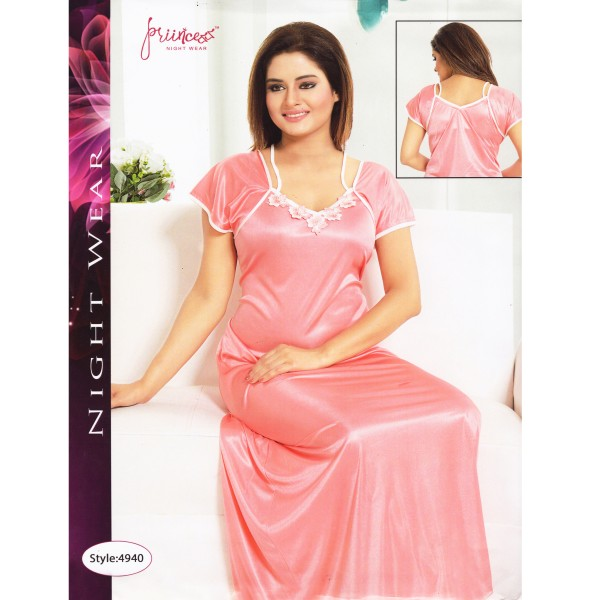 Fashionable One Part Nighty- 4940