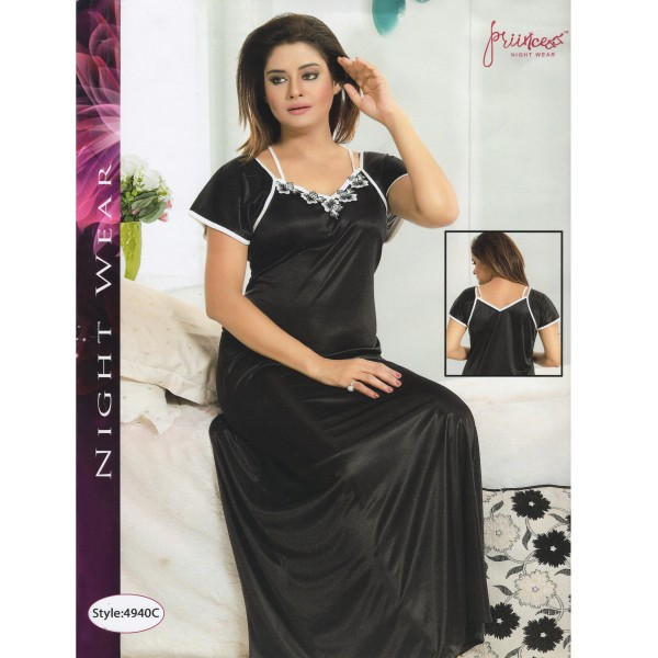 Fashionable One Part Nighty- 4940 C